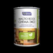 Масло-воск Сигма-Эко, масло воск для дерева