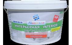 Акриловая краска для стен и потолков супербелая - Акварелла ВД-АК 201 СБ