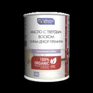 Масло с твёрдым воском Сигма-Декор Премиум, масло для дерева
